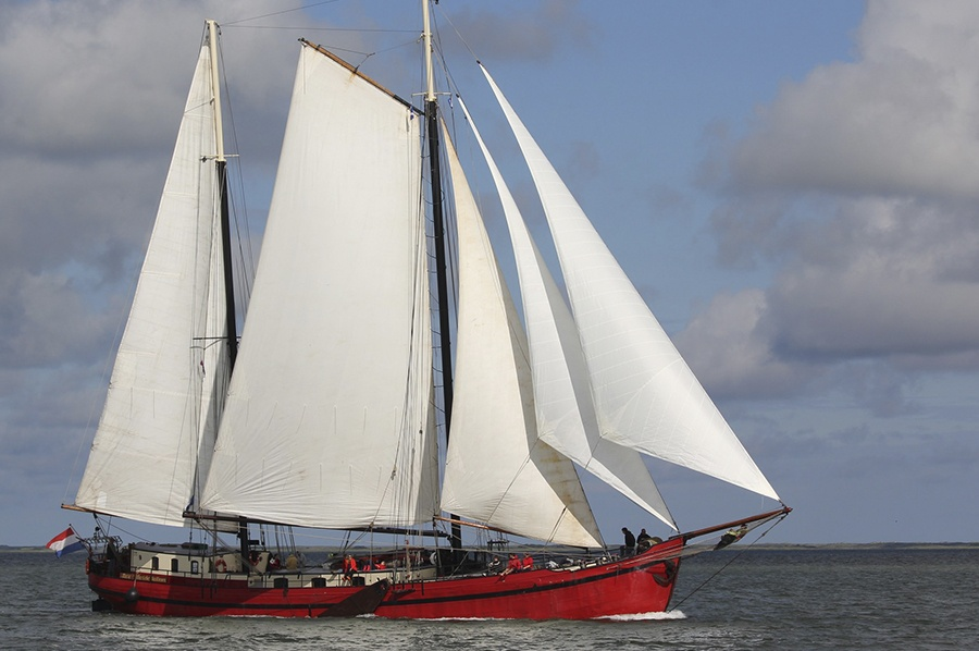 Foto van Klassiek zeilschip